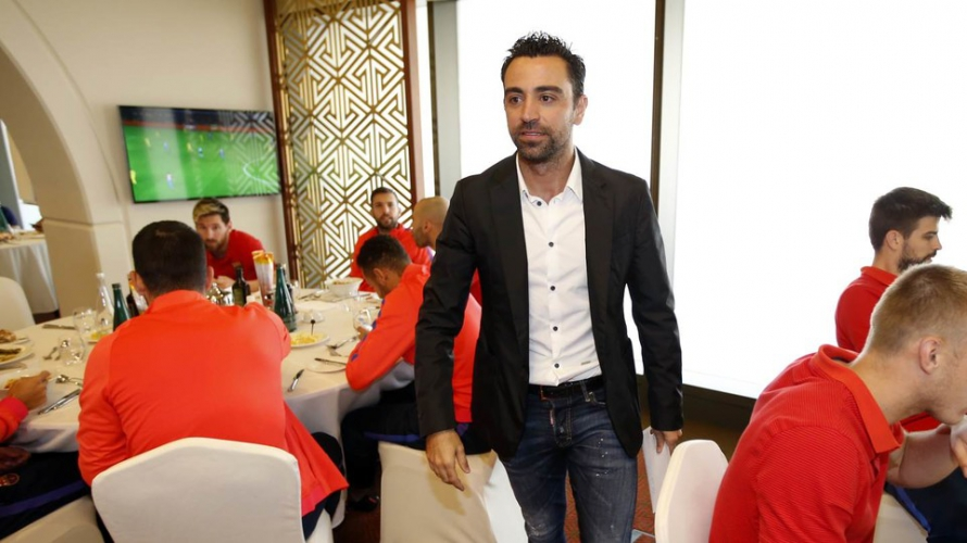 """Xavi Hernández: """"Barça look good and I think they're on the rise"""""""